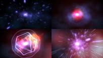粒子光线能量汇集视频