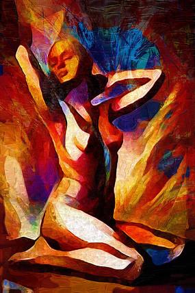 人体油画装饰画