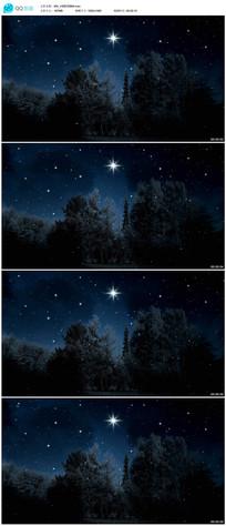 夜晚星空高清视频