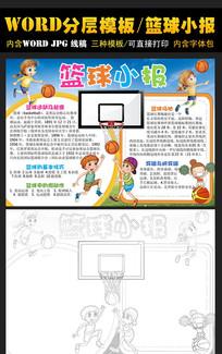 篮球手抄报电子小报