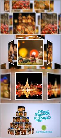 圣诞树幻灯片展示模板