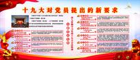 十九大党章修改党建展板宣传栏