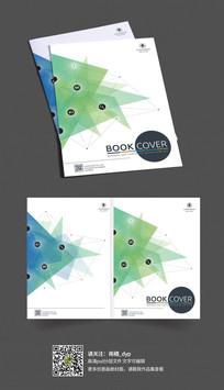 简约大气企业画册封面模版