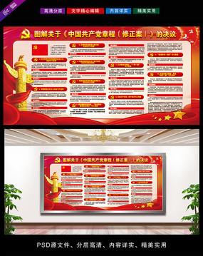 共产党新党章宣传栏