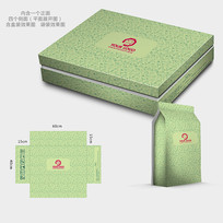 时尚花纹保健品包装盒