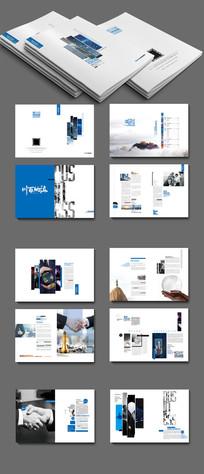高档企业画册板式设计
