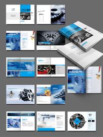 机械齿轮画册设计