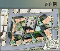 国外商业城规划总平