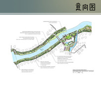 河滨景观设计平面图