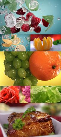 食物美食水果蔬菜饮料宣传视频