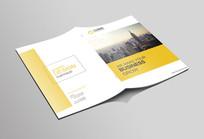 简洁大气企业宣传画册封面