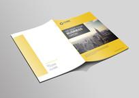 简洁企业文化画册封面