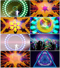动感舞曲背景视频素材