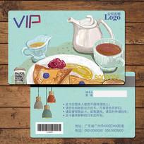 港式茶餐厅VIP充值卡