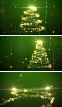 圣诞节圣诞树动态视频素材