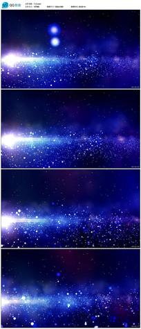 唯美星空粒子宇宙背景视频