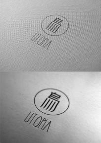 中文简约潮品设计