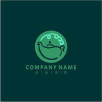 标志 logo 茶业 茶叶 茶馆 CDR
