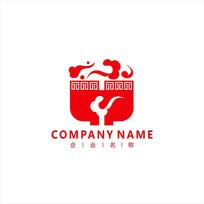 餐饮餐厅中式标志logo CDR