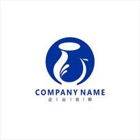 瓷器花瓶陶瓷标志logo CDR
