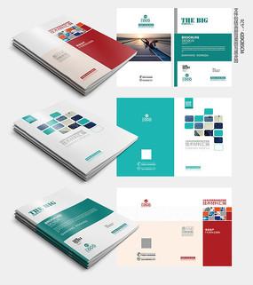 电力宣传手册封面 PSD