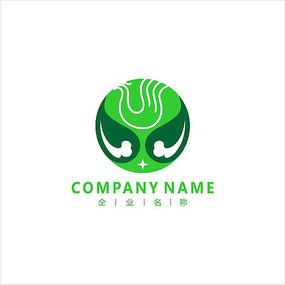凤凰 山水 旅游 标志 logo
