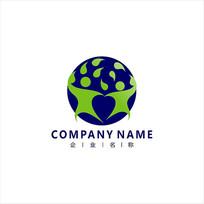 公益生物教育标志logo