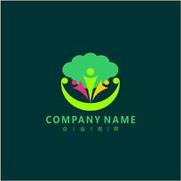 教育 培训 儿童 标志 logo CDR