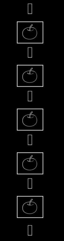 金苹果雕刻图案