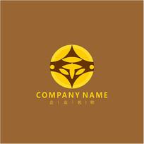 金融金字财经标志logo CDR