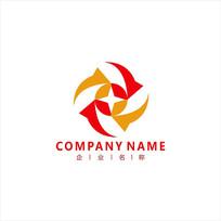 金融投资财经标志logo CDR