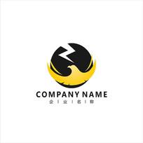 老鹰 投资 金融 标志 logo