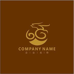 龙 金融 投资 标志 logo