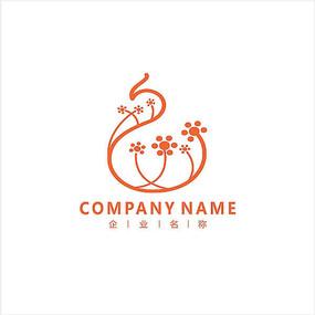 美容 女性 凤凰 标志 logo