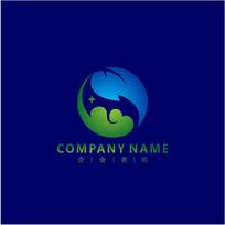 能源 旅游 山水 标志 logo