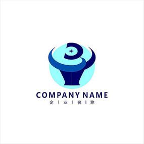 牛 科技 电子 标志logo