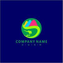 山水 旅游 凤凰 标志 logo CDR