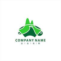 山水 旅游 景色 标志 logo CDR
