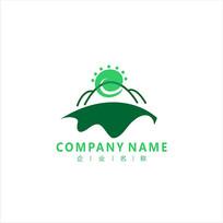 山水 旅游 太阳 标志 logo CDR