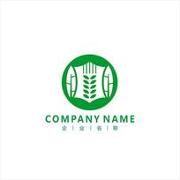 水稻 大米 农业 标志 LOGO CDR