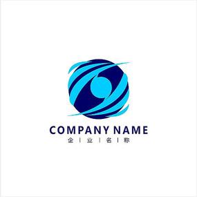 网络数码科技标志 logo