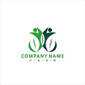 叶子 医药 生物 标志 logo