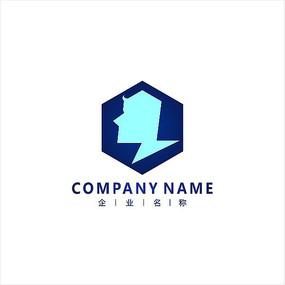 智能  科技 电子 标志logo