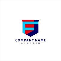 字母FJ 理财 投资 标志 logo CDR