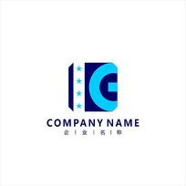 字母KG电器工业标志logo