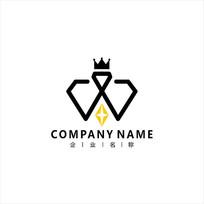 字母W标志logo CDR