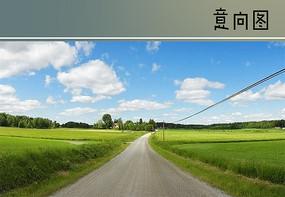 村庄水泥道路