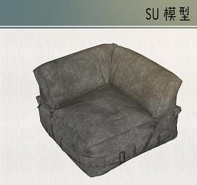 灰色系布料沙发