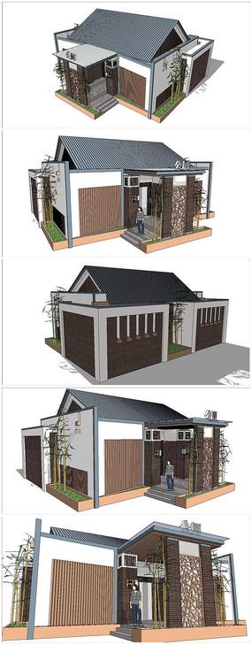 精品公共卫生间厕所SU模型