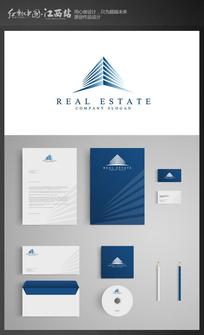 高端建筑公司企业VI模板